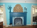 Living Room fireplace 11879 Red Oak Dr