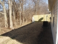 Back yard 4470 Bungalow St
